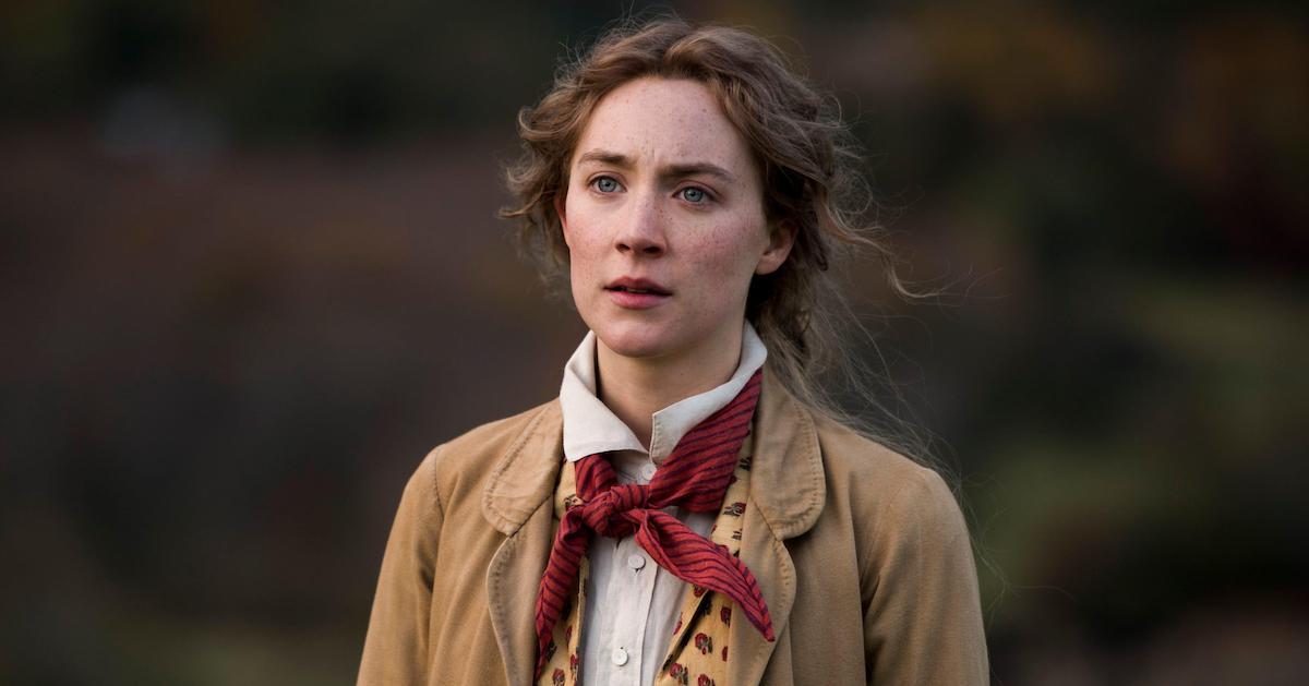 Saoirse Ronan as Jo March in Little Women