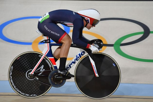 Becky James Beats Victoria Pendleton S Olympic Record In