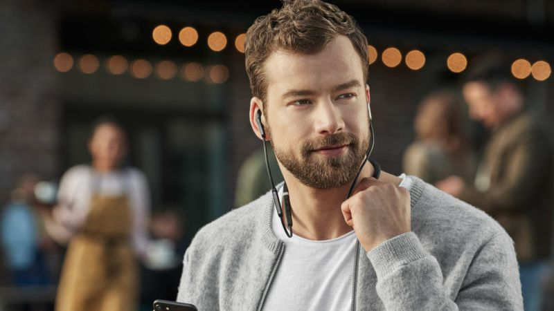 Jabra's new wireless noise-cancelling earphones help drown out the world