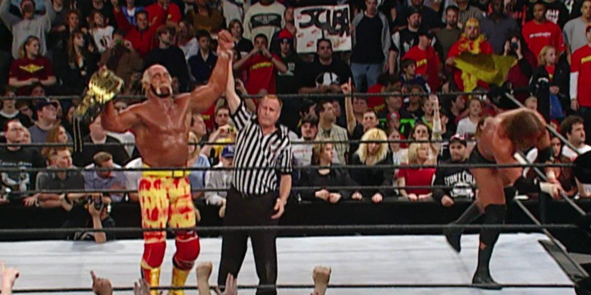 Hollywood Hulk Hogan at Backlash 2002