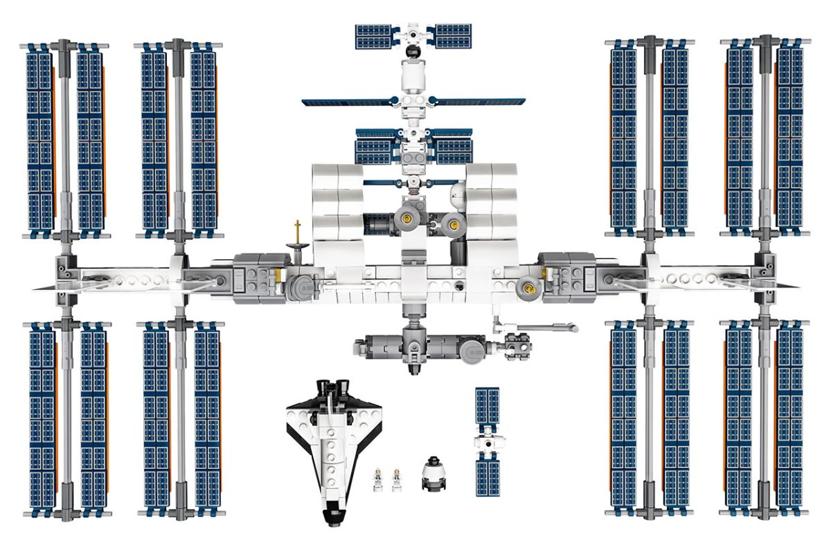 Lego is launching an International Space Station model for sale - Space.com