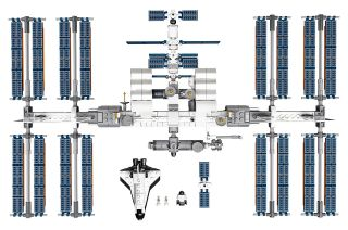 Lego is launching an International Space Station model for sale