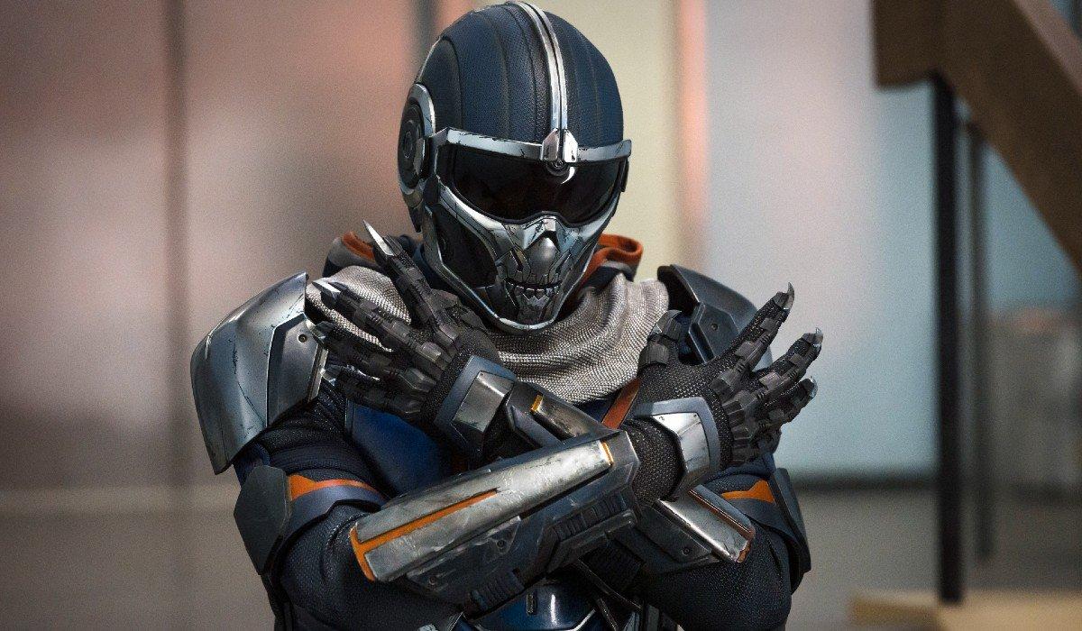 Taskmaster. arms crossed Black Widow Marvel
