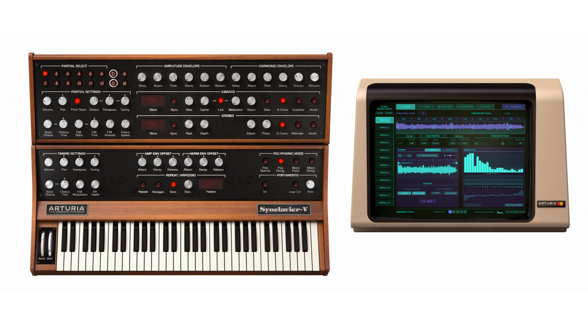 Arturia's Synclavier V 2 can resynthesize a sound from a single