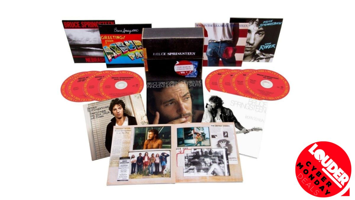 Walmart has taken 20% off this Bruce Springsteen vinyl boxset for Cyber Monday