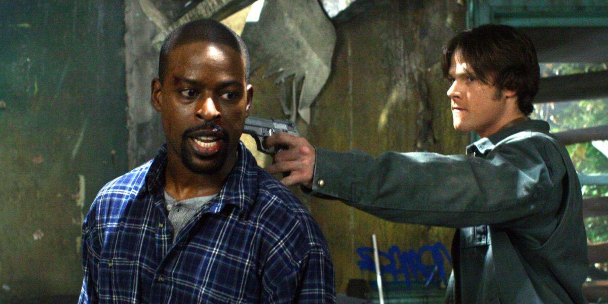 Sterling K. Brown and Jared Padalecki on Supernatural