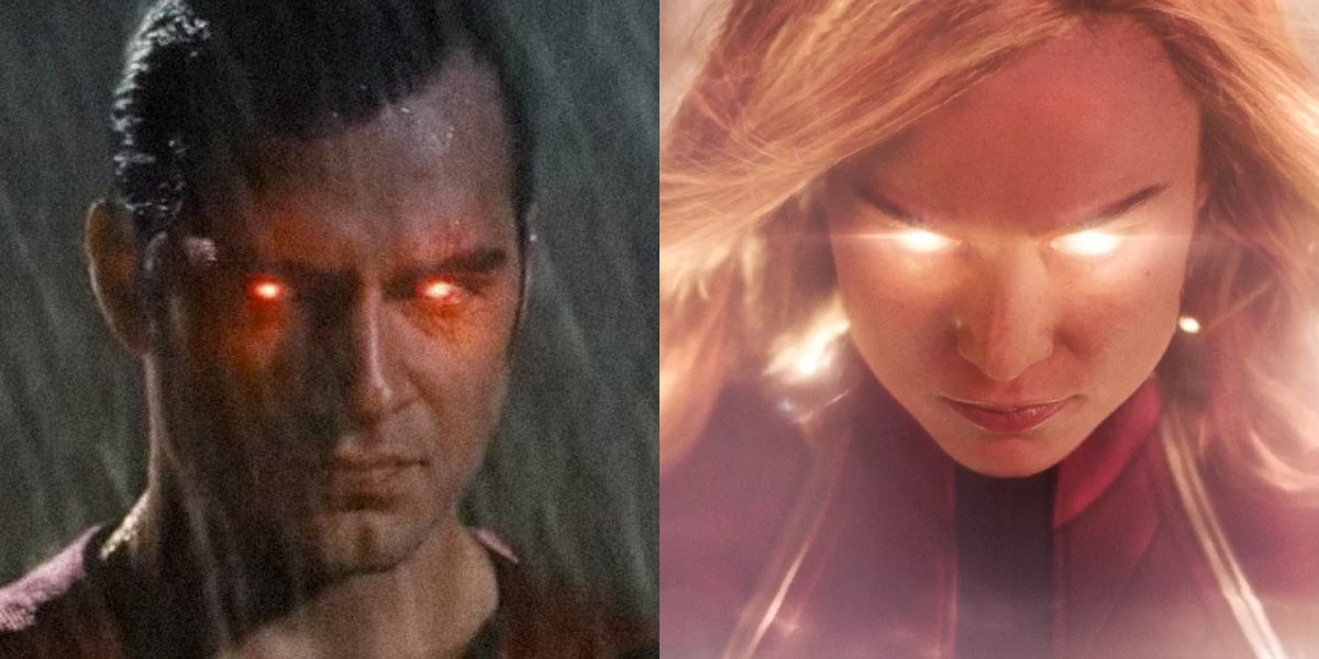 Superman and Captain Marvel are ready for battle