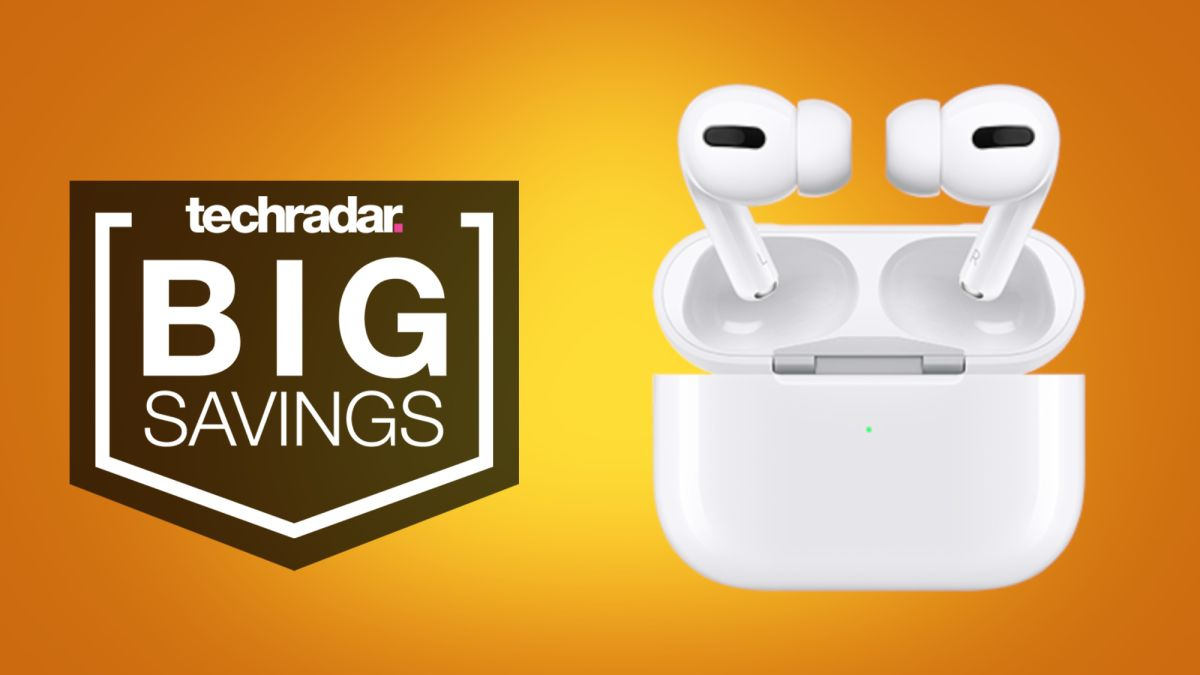 Amazon's Apple AirPods Pro deals are back down to $189 today – TechRadar