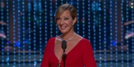 Allison Janney Says She's Going To Sleep With Her Oscar