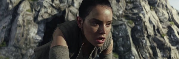 Star Wars The Last Jedi Rey Daisy Ridley On Ahch-To