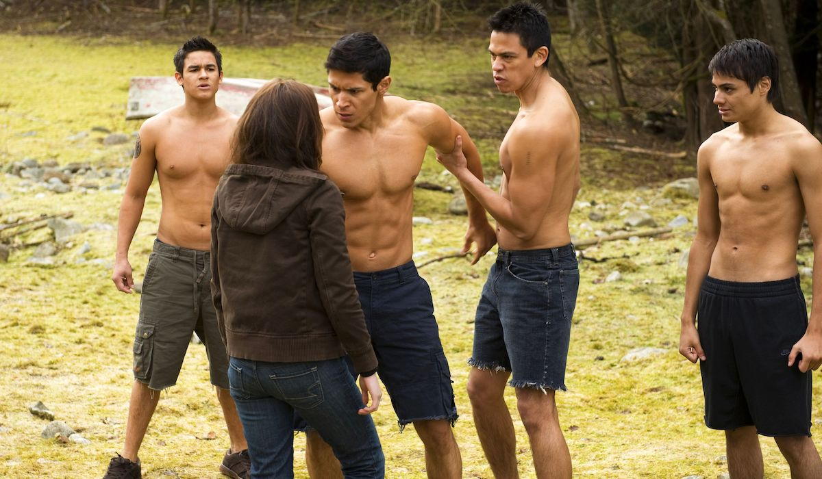 Quileute wolf pack in Twilight New Moon