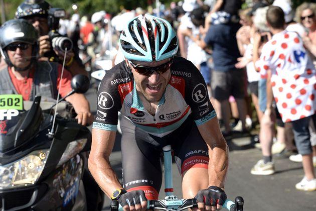 Jens Voigt solo, Tour de France 2013, stage 20