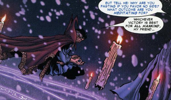 Doctor Strange Civil War Comic