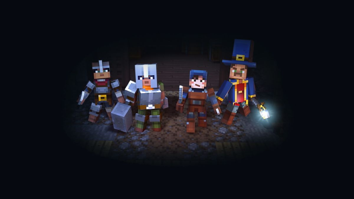 Minecraft Dungeons closed beta is on the way and you can register for a spot now