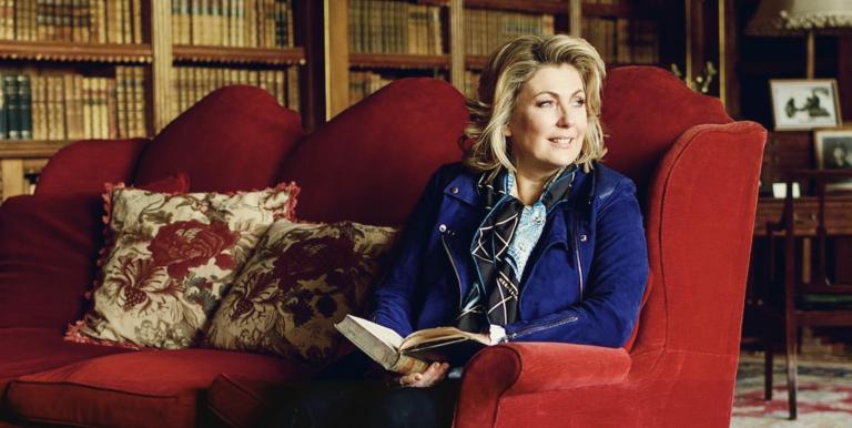 Lady Carnarvon at Carnarvon House/Downton Abbey