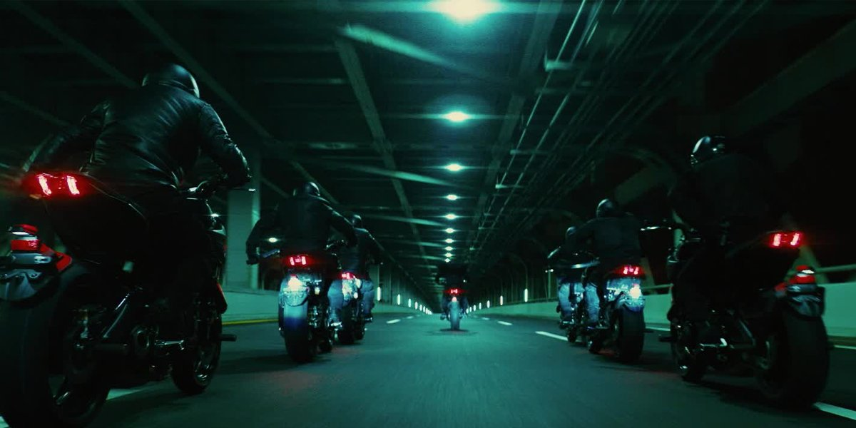John Wick: Chapter 3 – Parabellum – Motorcycle Chase