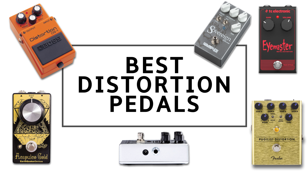 The 10 best distortion pedals 2019: top drive pedals and