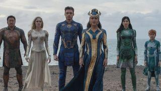 Marvel Cinematic Universe's Eternals lineup