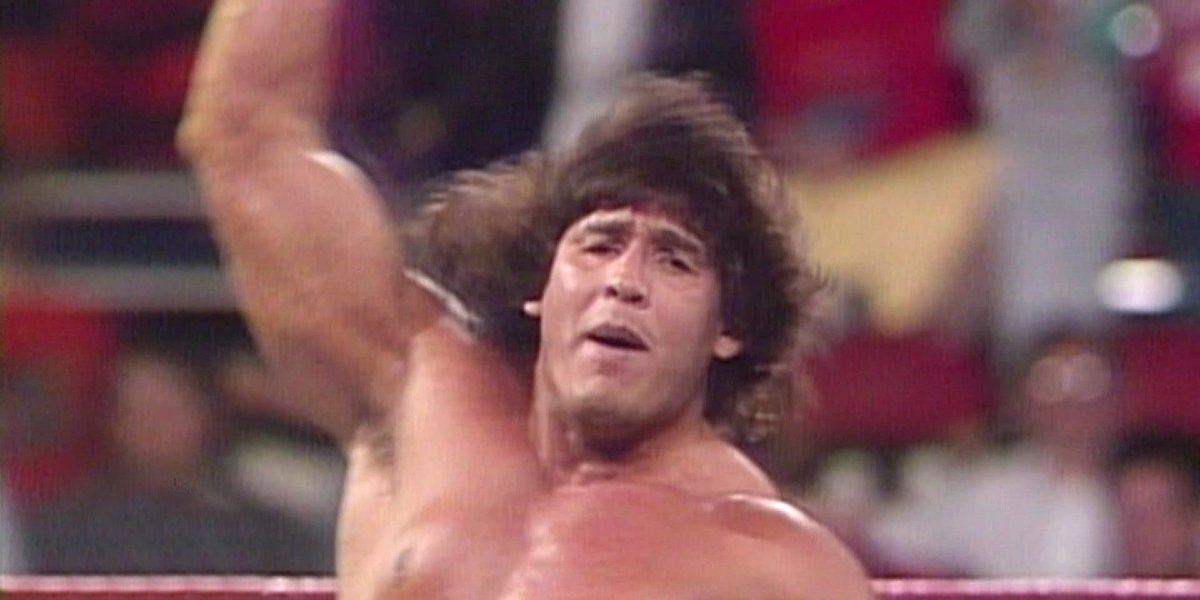 Tito Santana on Monday Night Raw
