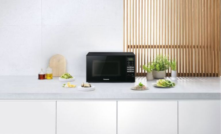 The PANASONIC NN-E28JBMBPQ Compact Solo Microwave is down to under £50 at Currys