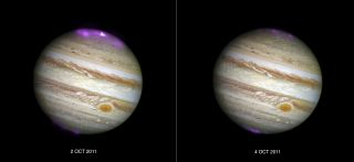 "Solar Storms Ignite X-ray ""Northern Lights"" on Jupiter"