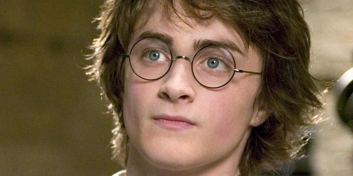Daniel Radcliffe as Harry Potter in Harry Potter and the Goblet Of Fire