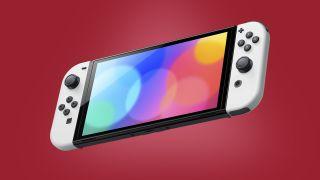 Nintendo Switch OLED-Liste Bild rot