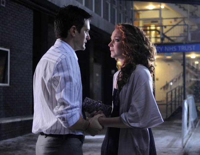 Will Maria leave Holby with Sam?