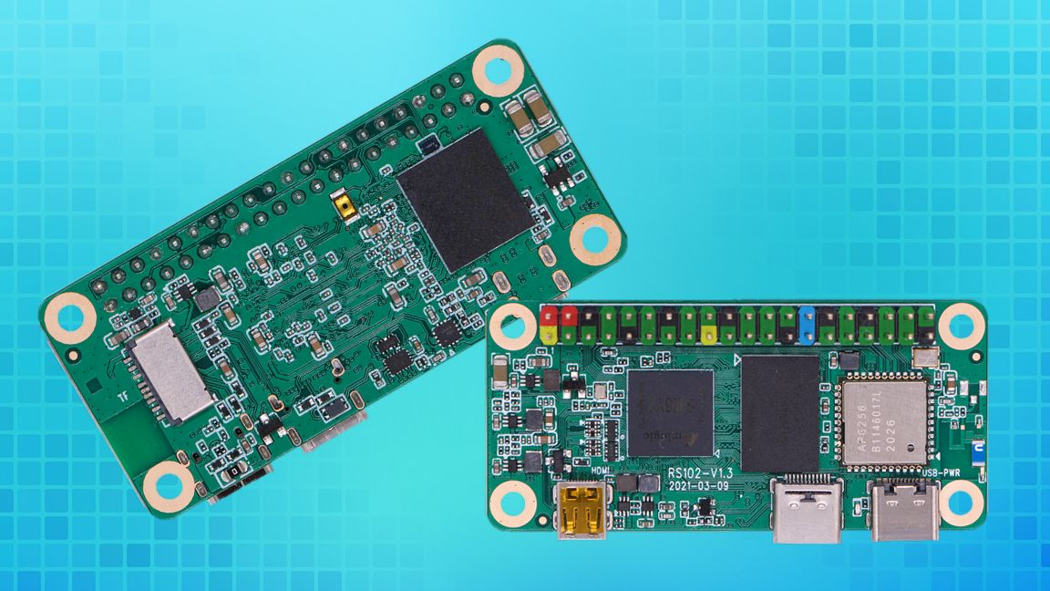 Raspberry Pi Zero Clone Offers 4 Cores, 4GB of RAM