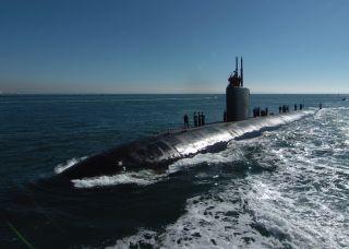 Submarine USS Topeka