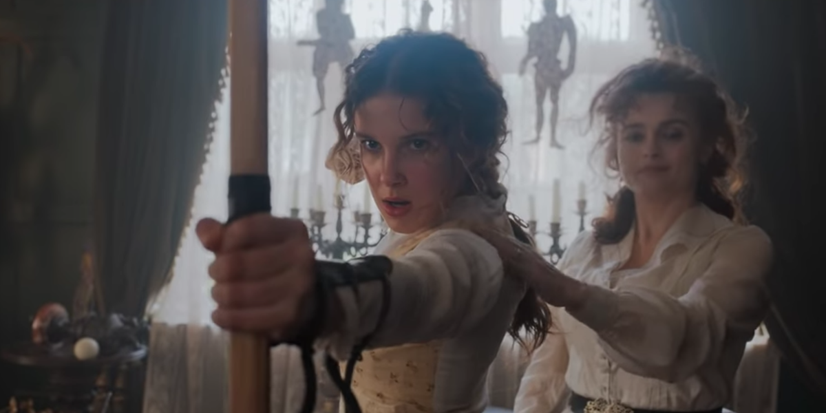 Henry Cavill Stars in 'Enola Holmes' Trailer