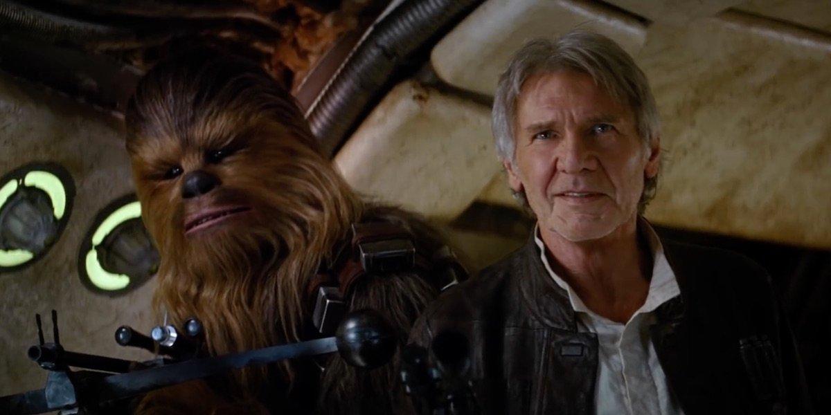 Chewbacca Star Joonas Suotamo Improvised Funny Force Awakens Scene With Harrison Ford - CINEMABLEND