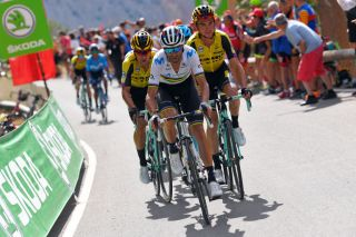 Alejandro Valverde leads the way at the 2019 Vuelta a Espana