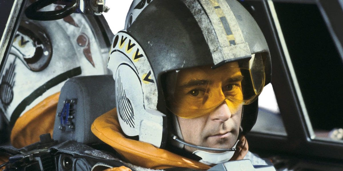Wedge Antilles in Star Wars: The Empire Strikes Back