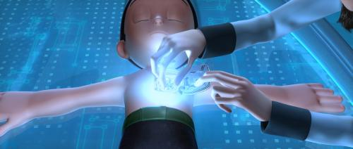 Astro Boy - Scientist's son Toby (Freddie Highmore) is reborn as Astro Boy in this lively animated comedy adventure