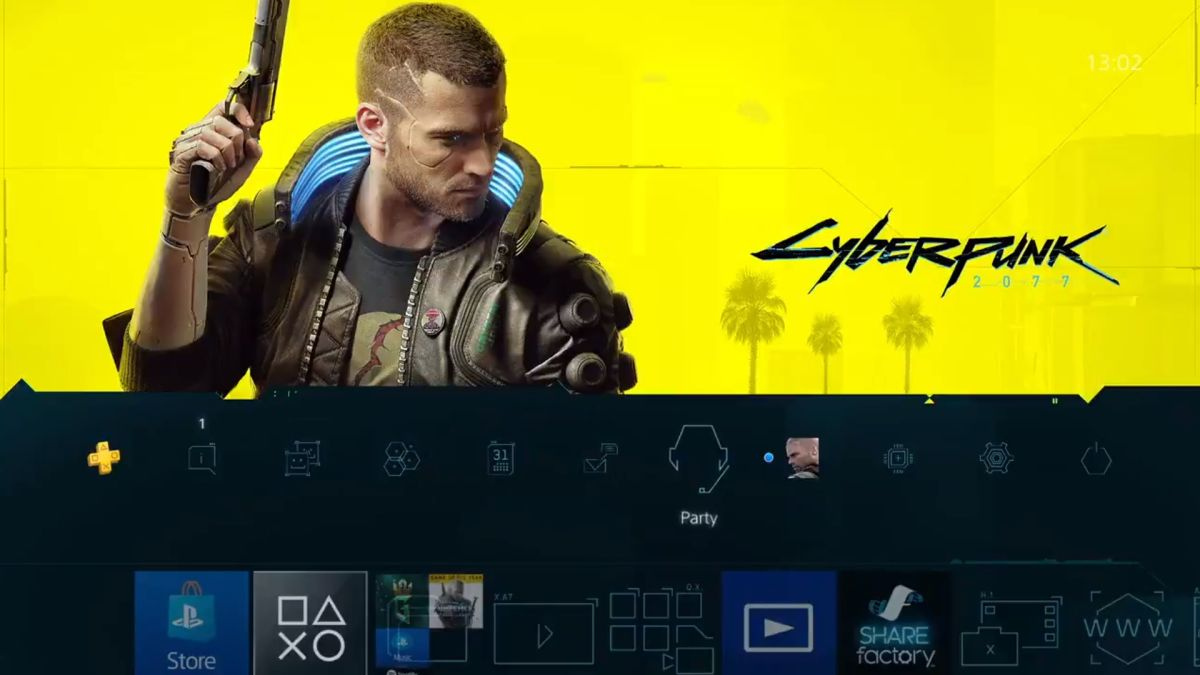 Cyberpunk 2077 PS4 theme makes your PS4 go beep-boop and it's exactly what you need