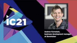 Andrew Kornstein, business development manager at Sennheiser shares what to expect from the company during InfoComm 2021.