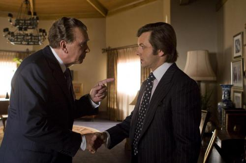 Frost/Nixon - Frank Langella as Richard Nixon and Michael Sheen as David Frost