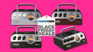 Load up on Vox's tone-tastic MV50 mini amp heads for just $149 with this amazing Black Friday deal