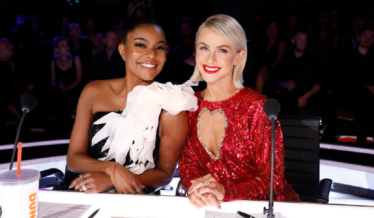 Gabrielle Union Julianne Hough America's Got Talent NBC