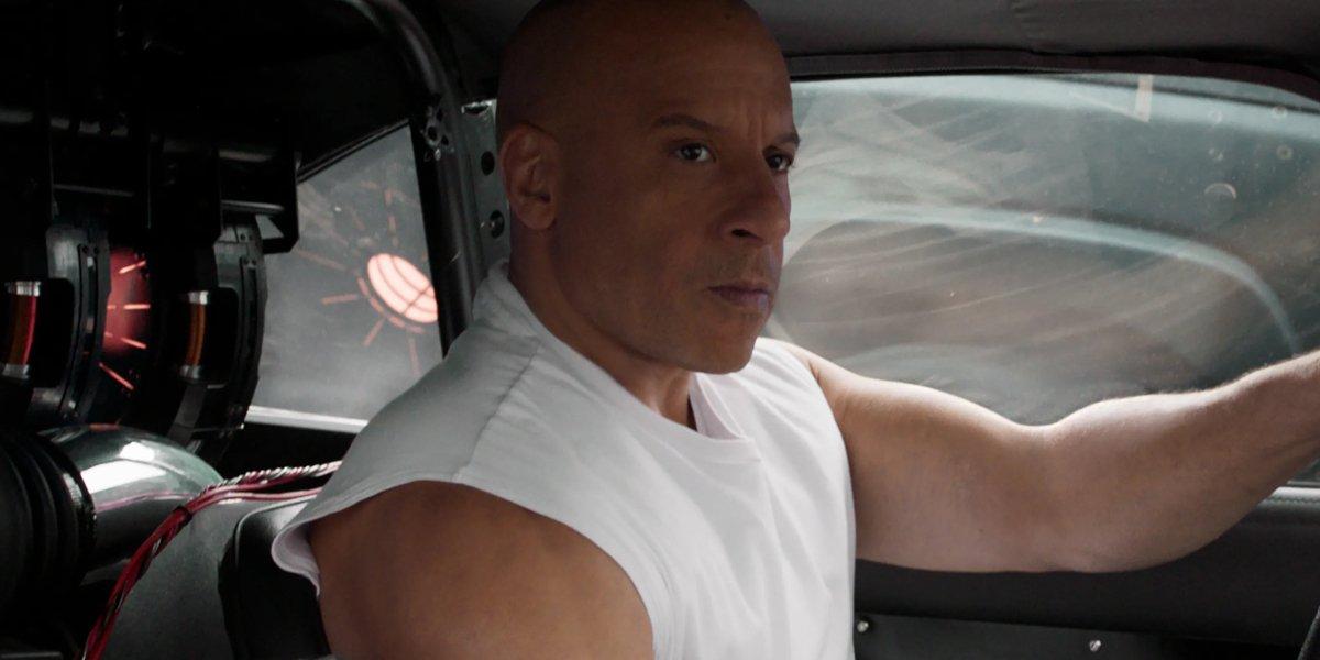 Vin Diesel in F9: The Fast Saga