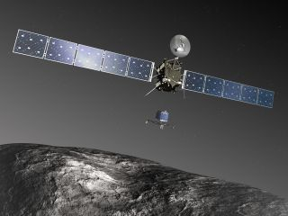 Rosetta Spacecraft Artist Impression
