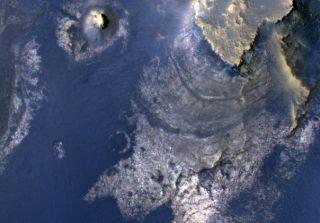 Mclauglin Crater Mars MRO