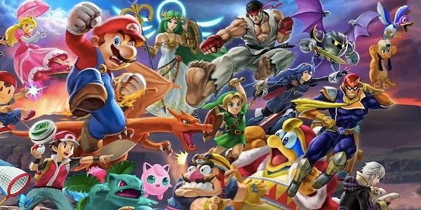 Mario and pals from Super Smash Bros. Ultimate.