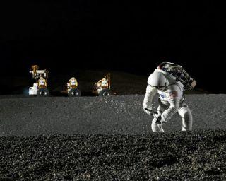 NASA Chief: Moon Base Must Precede Mars Mission