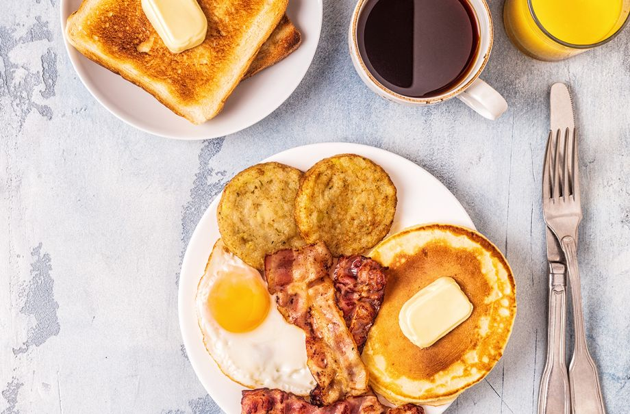 big breakfast burn double calories