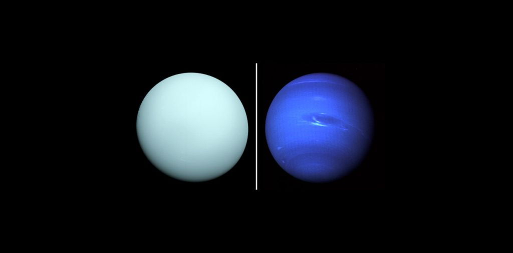 A mission to Uranus and Neptune could act as massive gravitational-wave detector