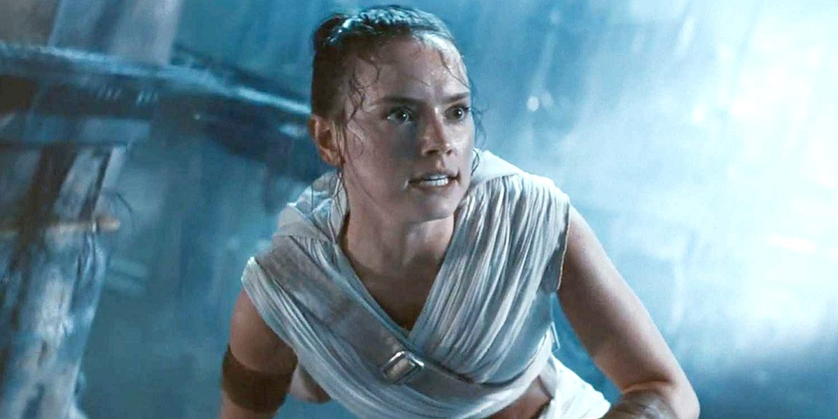 Daisy Ridley as Rey Star Wars: The Rise of Skywalker