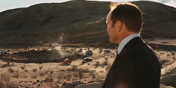 Agent Couson Thor hammer Iron Man 2 Post Credits