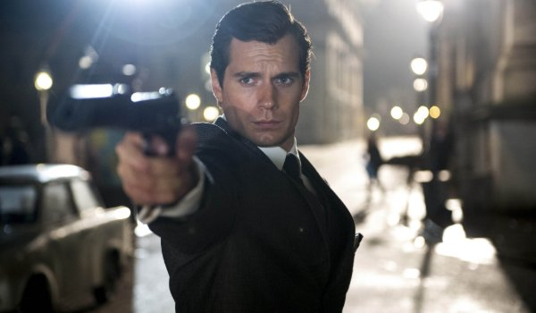 The Man From U.N.C.L.E. Henry Cavill spotting a target in night time Berlin